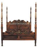 Louis XV Four Poster Bed Double